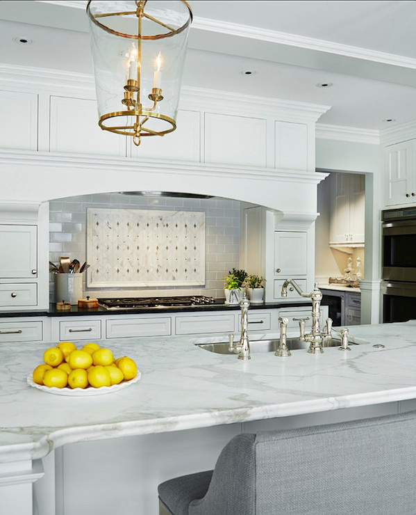 White Dove Cabinets Traditional Kitchen Benjamin