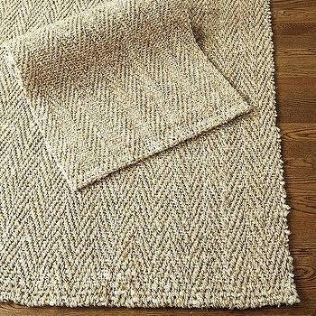 Herringbone Jute Natural Fiber Rug Ballard Designs