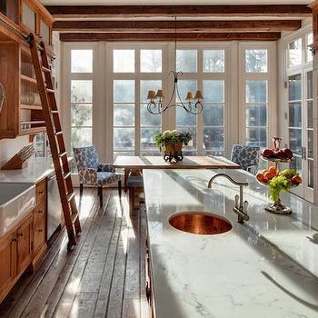 Oak Kitchen Cabinets, Country, kitchen, Buckingham Interiors