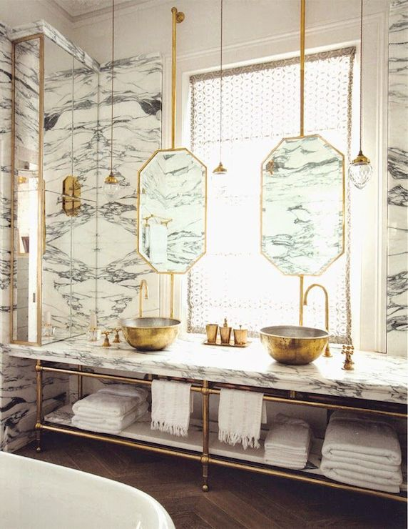 Attractive Gold Vessel Sinks