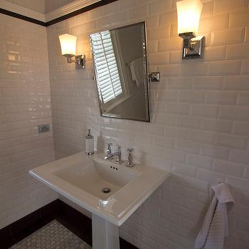 Chair Rail Ideas For Bathroom find this pin and more on chair rail ideas Beveled Subway Tiles