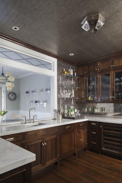Kitchen Pass Through Transitional Kitchen Sb Long Interiors