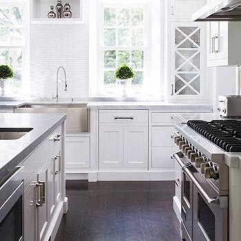 Susan Glick Interiors · White Capiz Shell Mosaic Tiles
