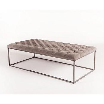 Tufted Coffee Table Ottoman Products Bookmarks Design