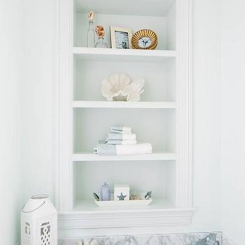 Bathtub Shelves Design Ideas