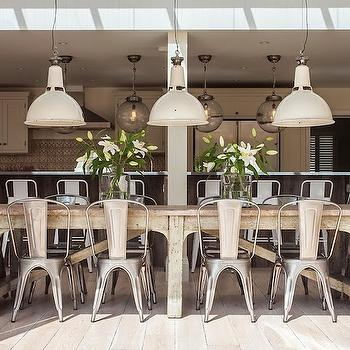 Industrial Dining Table Design Ideas