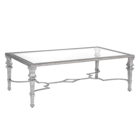 Antonia Silver Coffee Table View Full Size
