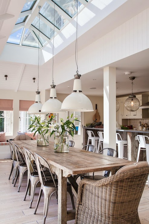 Skylight Dining Room Eclectic Dining Room Shoot Factory