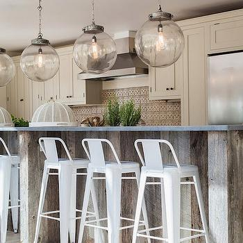 Reclaimed Wood Island, Eclectic, kitchen, Shoot Factory