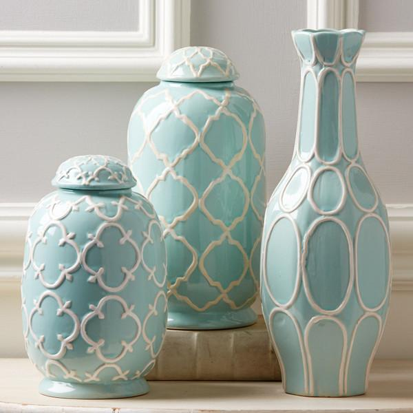 view full size - Decorative Jars