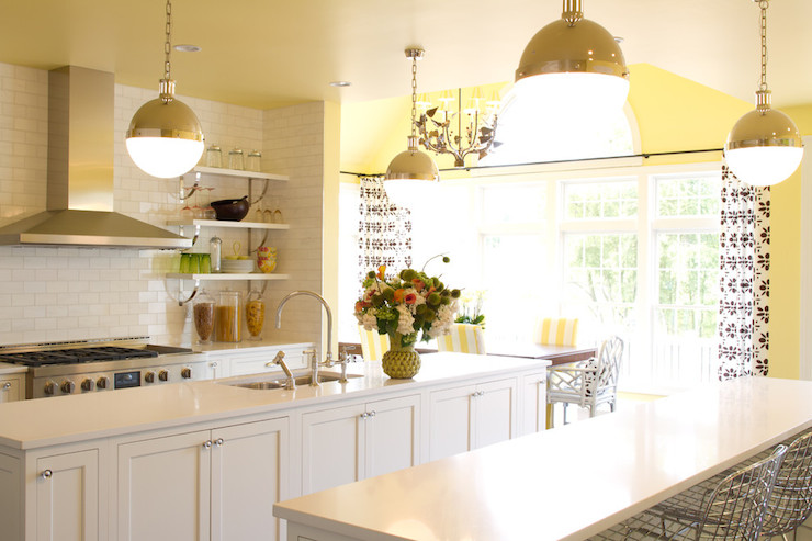 White  Transitional  kitchen  Porters Paint Beeswax  Alisha Gwen