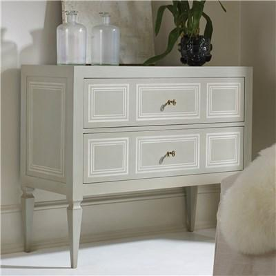 Modern History Home Milan Grey Commode