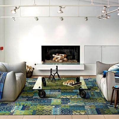 Indigo Carpet Tile