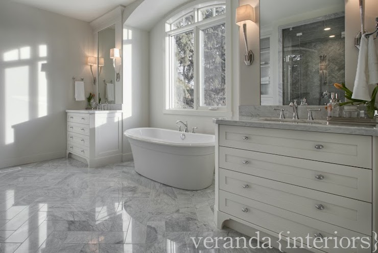 Marble Bathroom Ideas To Create A Luxurious Scheme: Veranda Interiors