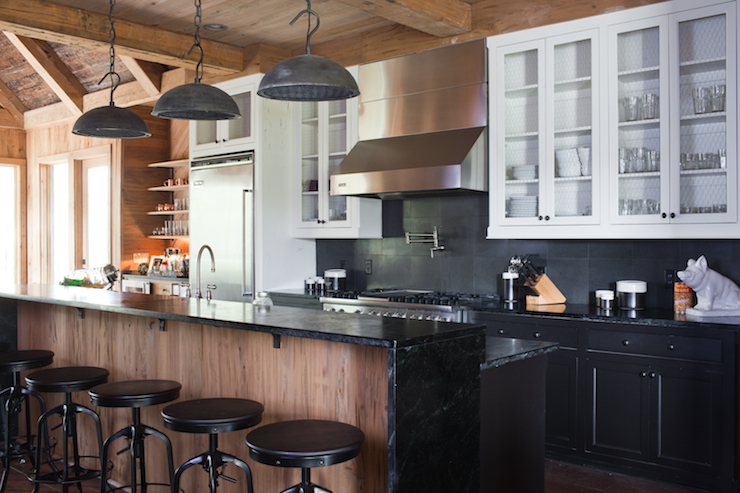 kitchen white upper cabinets dark lower white cabinets black lower cabinets country 22186