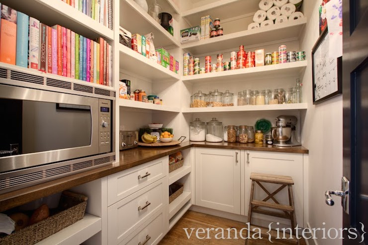 Walk In Pantry Ideas Transitional kitchen Veranda Interiors