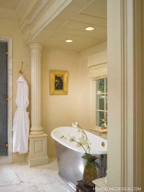 Bathroom Columns Traditional Bathroom Hungeling Design