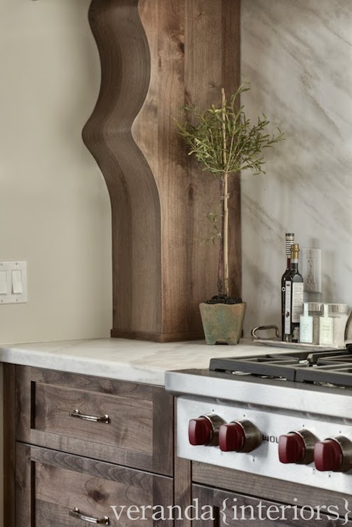 Leathered Marble Countertops Transitional Kitchen