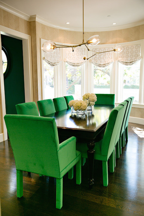 french sunken dining room with cane back dining chairs  french, Home designs