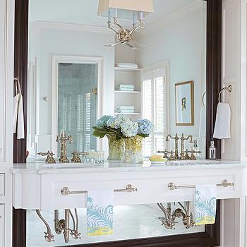 Floating Vanity, Transitional, bathroom, Birmingham Home and Garden
