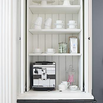 Hidden Coffee Station Design Ideas