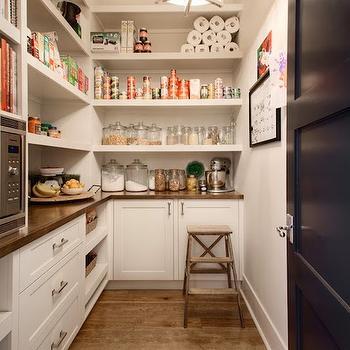 Pantry Microwave, Transitional, kitchen, Veranda Interiors