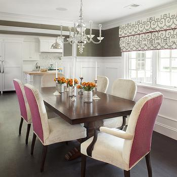 2 Tone Dining Chairs, Contemporary, dining room, Evars and Anderson