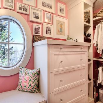 Closet Window Seat, Traditional, closet, Veranda Interiors