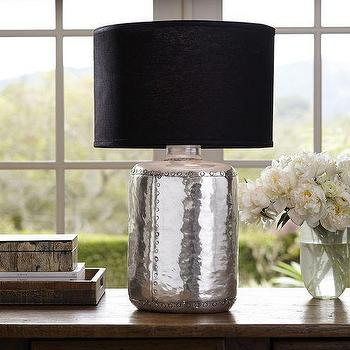 Nielson Rivet Table Lamp Base, Pottery Barn