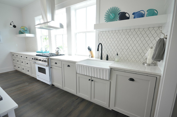 superior Best Backsplash For Small Kitchen Part - 16: Arabesque Tile Backsplash
