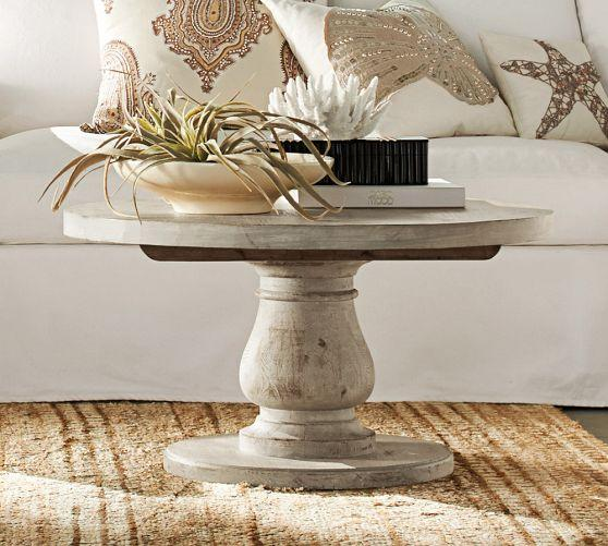 Walsh Whitewash Coffee Table