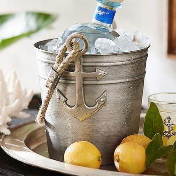 Anchor Ice Bucket, Pottery Barn