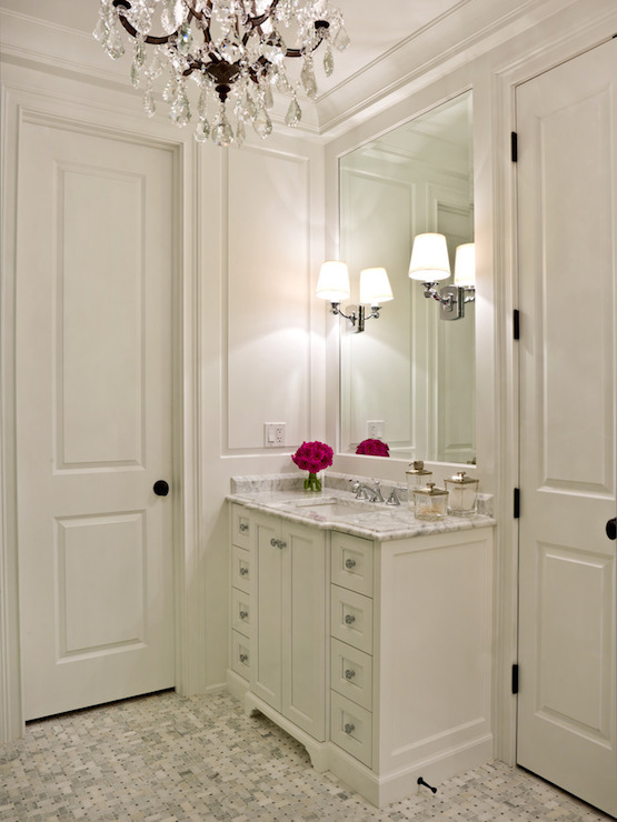 Bathroom Chandelier Sconces bryant sconce - transitional - bathroom