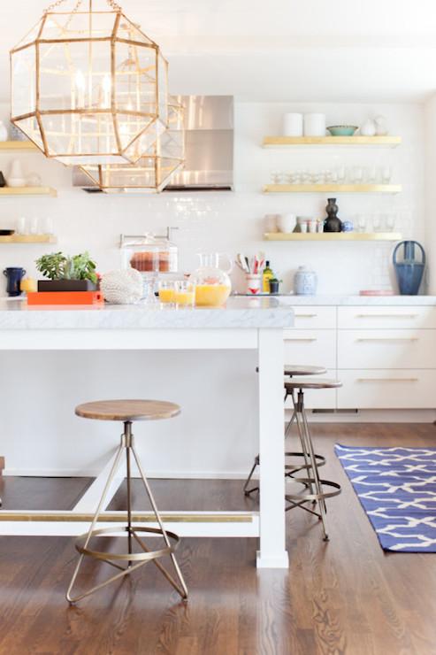 Suzanne Kasler Morris Lantern Transitional Kitchen