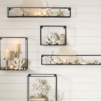 Cube Display Shelves Pottery Barn
