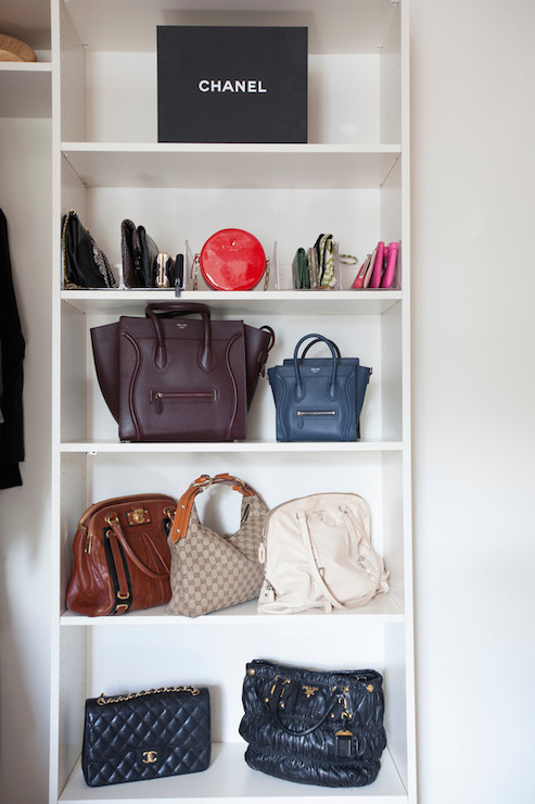 Closet Bag Shelves Design Ideas