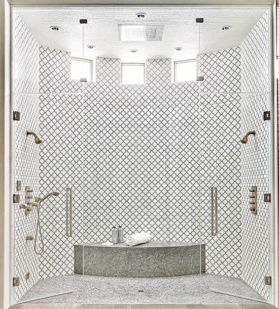 Delightful 2 Person Shower
