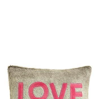 Cowhair Love Pillow, Calypso St. Barth
