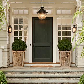 Flagstone Steps, Transitional, home exterior, Thornton Designs