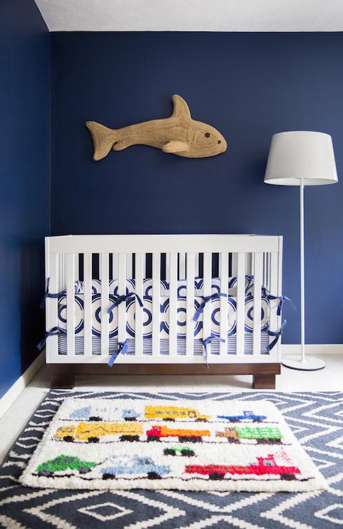 Navy Blue Walls Design Ideas
