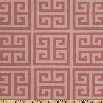 Premier Prints Towers Rosa Oatmeal/Pink I Fabric.com