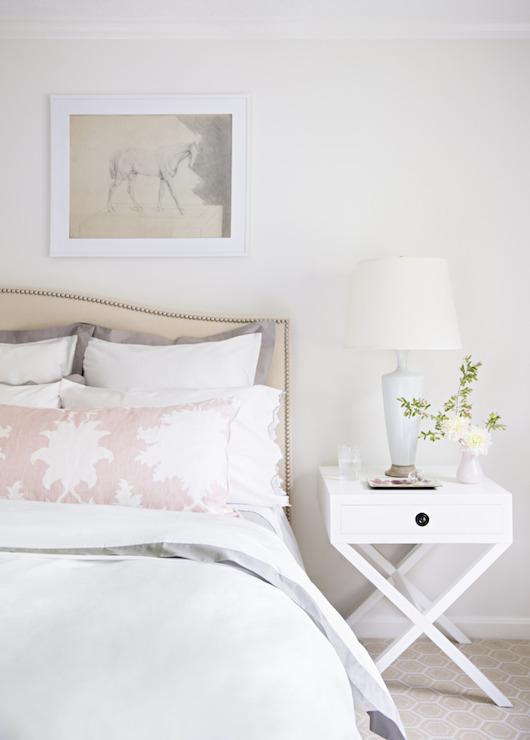 X Base Nightstand Traditional Bedroom Domino Magazine