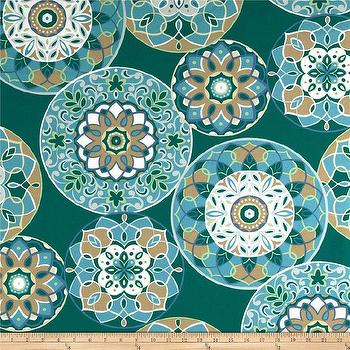 Richloom Solar Outdoor Cera Peacock I Fabric.com