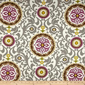 Waverly Celestial Sun Twill Sterling I Fabric.com