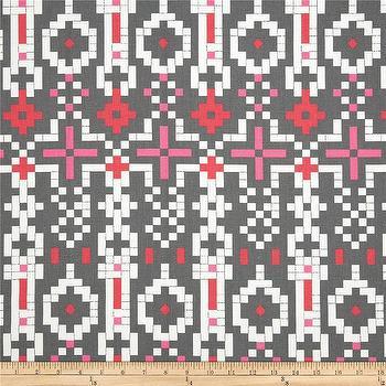 Premier Prints Mosaic Flamingo I Fabric.com