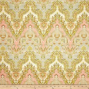 Waverly Palace Sari Slub Rosewater I Fabric.com
