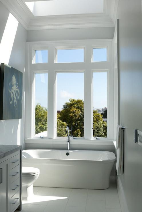 Duravit Pura Vita Bathtub - Contemporary - bathroom - Marsh and Clark