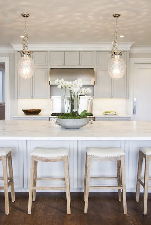 Pineapple Light Pendants Transitional Kitchen Marsh