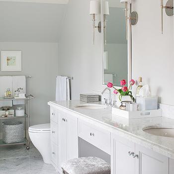 Vanity Sconces, Transitional, bathroom, Terris Lightfoot