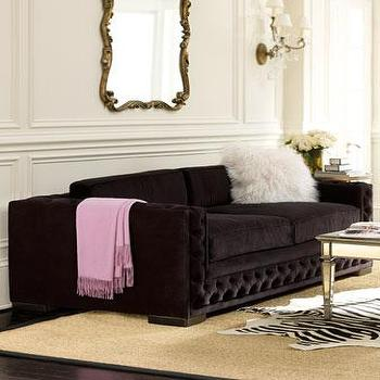 Horchow Tufted Sofa Horchow